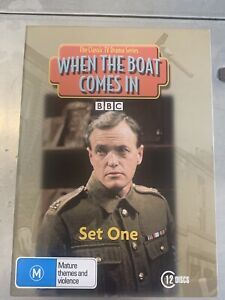 When The Boat Comes In : Set One (DVD, 2008,12-Disc Set) Reg 4  Like New (D669)