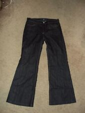 SEVEN FOR ALL MANKIND WOMENS JEANS THE GINGER SIZE29 HEMMED EUC