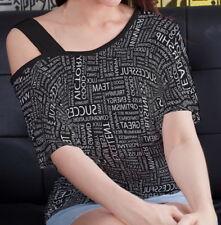 Success Women Single Off Shoulder Strap Top Shirt Blouse b128 acr03016