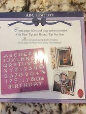 CREATIVE MEMORIES ABC TEMPLATE NEW