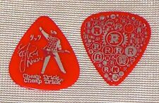 Rick Nielsen Cheap Trick Show Used Signature Guitar Pick - Red