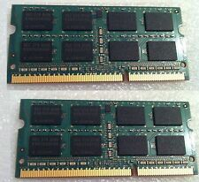Toshiba Satellite C650D 12J RAM Memory 2 x 1gb = 2 GB DDR3 8500S