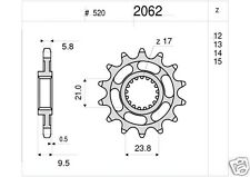 2062 Pignone in Acciaio Honda CR 250 500 CRE 250 CRF 450  DA 13 DENTI