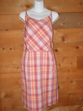 Ladies Ann Taylor Factory Store Plaid Dress, Size 8, REALLY CUTE!