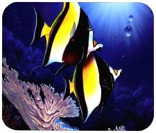 "MOORISH IDOL FISH MOUSE PAD - 1/4"" NOVELTY MOUSEPAD"
