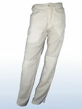 Pantalone uomo bianco SASCH dritto it 42 de 36 w 28
