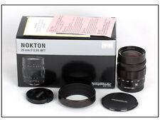 Voigtlander Nokton 25mm f/0.95 FIT MICRO 4/3 SONY NEX-5