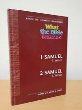 What the bible teaches 1 & 2 Samuel Richie old testament Commentaries