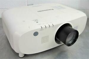 PANASONIC PT-EW540 HDMI WXGA LCD Projector Data Video HD-Ready Lamp Hours 512