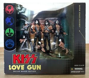 KISS Love Gun Deluxe Super Stage Edition Figures 2004 Sealed Mcfarlane Toys
