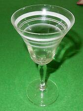 Weinglas mit Schliff original antik uralt um 1920