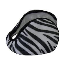 Fleece Ear Warmer Zebra Pattern Men Women Kids Ear Muff
