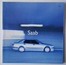 SAAB 9-3 & 9-5 2001 dealer brochure catalog - French - Canada