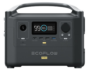 EcoFlow River600 PRO Fast charge 720Wh Solar Generators Power Station