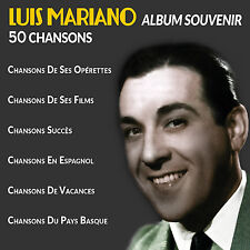 CD Luis Mariano - Album Souvenir : 50 Chansons - 2 CD