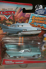 "DISNEY PIXAR CARS ""TIMOTHY ""TIMEZONE"" TRUECOAT"" NEW IN PACKAGE, SHIP WORLDWIDE"