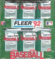 1992 Fleer Baseball Complete Your Set Pick 25 Cards From List
