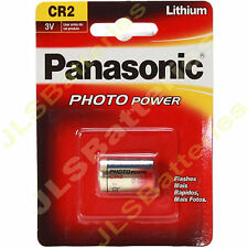 1 x Panasonic CR2 3V LITHIUM KAMERA FOTO Batterie DLCR2 ELCR2 KCR2