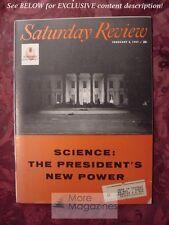 Saturday Review February 2 1957 SCIENCE J F MATLOCK GERALD GREEN