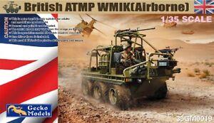 Gecko Models 1/35 35GM0019 British ATMP WMIK (Airborne)