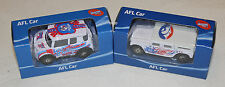 Western Bulldogs 2014 + 2015 AFL Kids Collectable Mini Model Car Twin Pack New