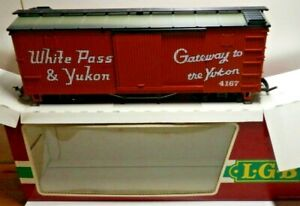LGB 4167 WHITE PASS & YUKON GATEWAY TO THE YOUKON - RED IN OVP