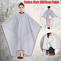 Adjustable Gown Barber Waterproof Salon Hair Cutting Cape Hairdressing Cloth
