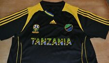 Adidas Youth XL Tanzania Soccer Jersey Black