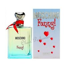 Moschino Funny For Women Eau de Toilette Spray 3.4oz 100ml * New in Box Sealed