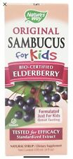 Nature's Way Original Sambucus For Kids Elderberry Syrup 4 oz Fast Free Shipping