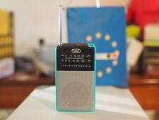 RA 725 TREVI MINI RADIO AM/FM light blue