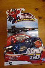 MARVEL Ultimate Spider Man Web Guerrieri SPIDER SABBIA Runner Buggy BLAST N Go