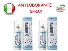 2 Confezioni Antiodorante Naturando Quotidiana NO Spray Classic 100 ml Ecologico