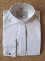 NEW BOYS WHITE FORMAL DRESS SHIRT WINGED COLLAR SIZES 10.5 11 OR 12 INCH COLLAR