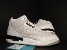 2007 Nike Air Jordan III 3 Retro FLIP GS CEMENT GREY WHITE BLACK RED CHROME 4Y 4