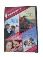 Four Movie DVD Set Nicholas Sparks Collection 883929183135