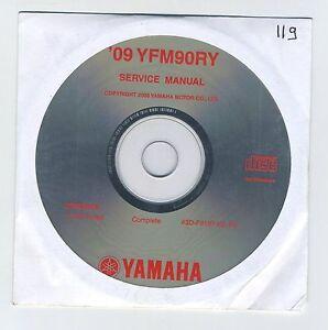 (CD119) CD YAMAHA YFM90RY