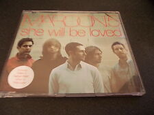 MAROON FIVE SHE WILL BE LOVED CD SINGLE