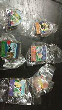 Lot of 6 Collectible Outback Steakhouse Pins, Brand new in Plastic!