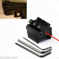 Tactical Red Laser Sight Detachable Picatinny Rail For Pistol Crossbow Rifle