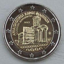 2 Euro Griechenland 2017 Archäologische Ausgrabungsstätte Philippi unz.