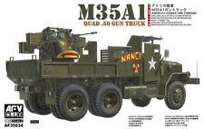 AFV Club 1/35 AF35034 US Army M35A1 QUAD 4x .05 Machine Gun Truck (Vietnam War)