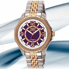 INVICTA 3664 MEN'S FLIGHT COLLECTION ROSEGOLD BRACELET WATCH