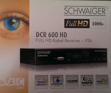 Full HD DVB-C Kabel Receiver USB HDTV  inkl.HDMI Kabel TOP
