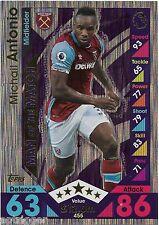 2016 / 2017 EPL Match Attax Man of the Match (455) Michail ANTONIO West Ham