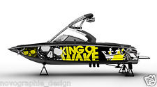 !SKULLS GRAPHIC KIT DECAL BOAT SPEEDSTER WRAP SEADOO WAKE BOARD SPORTSTER DESIGN