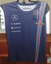 Williams Martini Racing Mercedes Womens Team Replica Performance T-Shirt NWT XS