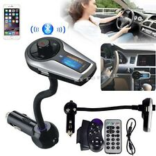 Car Kit MP3 Player Wireless Bluetooth FM Transmitter Modulator USB SD LCD Remote
