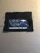 [9052 - PA1] Patch tissus pour t-shirt - coton - Punk- Punshed earth violence