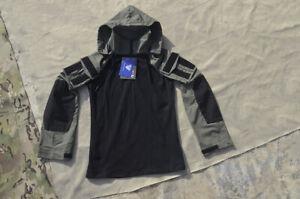 Combat Train Suit Top Gen3 Hood Jacket Shirt Tactical Hat Adjustable Detachable